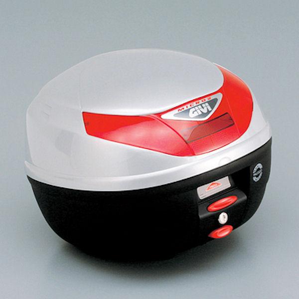 デイトナ DAYTONA 68033 GIVI E260G730D トップケース 容量26L ストップランプなし シルバー塗装