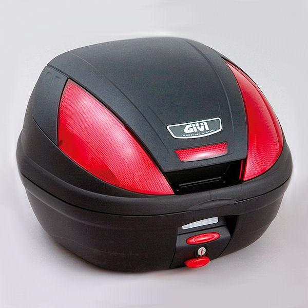 デイトナ DAYTONA 68050 GIVI E370N902D トップケース 容量37L ストップランプなし ブラック塗装