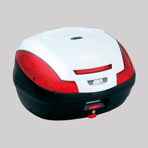 デイトナ DAYTONA 68056 GIVI E470B906D トップケース 容量47L ストップランプなし パールホワイト塗装