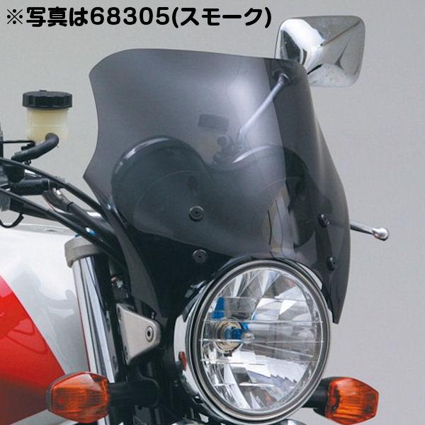 デイトナ DAYTONA 68306 ブラストバリアーバイザー ピュアブルー SR400/500 W650/400 ゼファー CB400SF