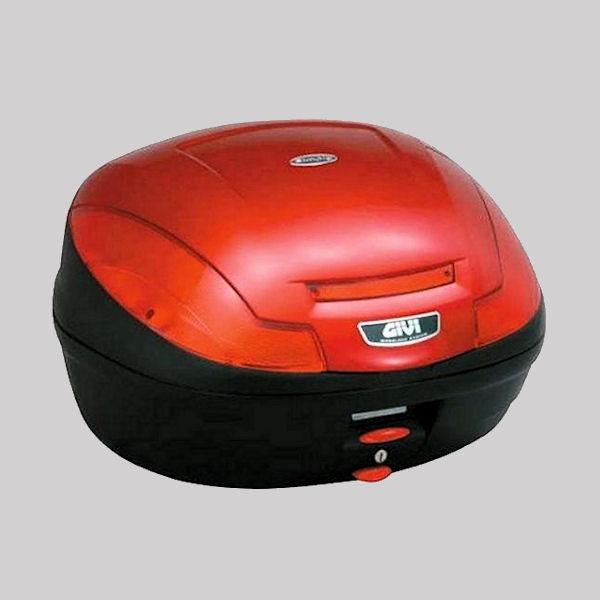 デイトナ DAYTONA 69007 GIVI E470R301D トップケース 容量47L ストップランプなし キャンディレッド塗装