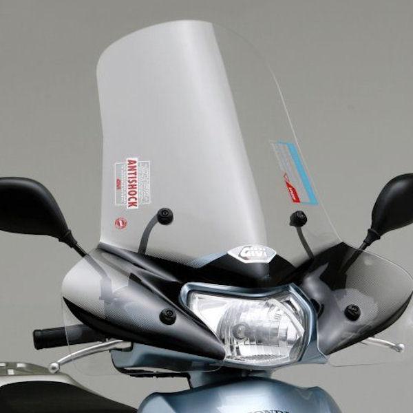 デイトナ DAYTONA 93955 GIVI エアロダイナミックスクリーン セミスモーク 314A H520×W665mm ホンダ リード110