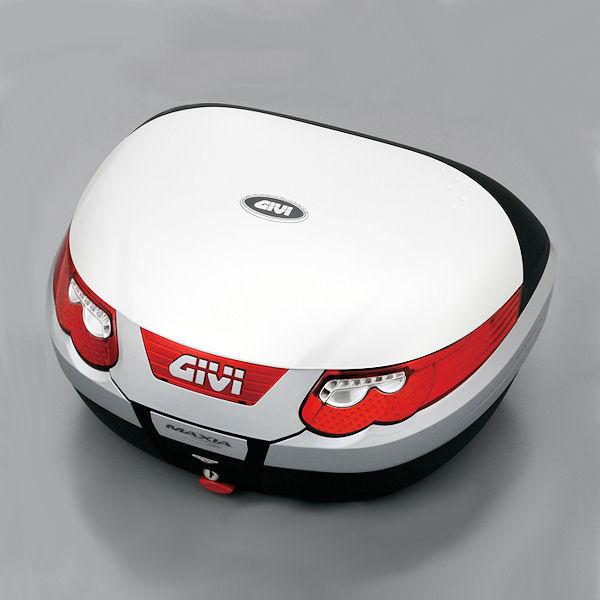 デイトナ DAYTONA 94878 GIVI E55B906 デラックスタイプ(ストップランプ+インナートレイ付) パールホワイト塗装
