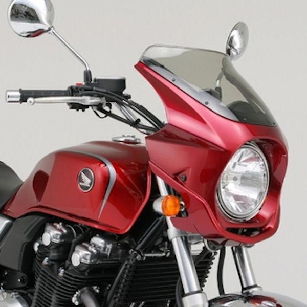 デイトナ DAYTONA 74203 フロントカウル 塗装済み レッド AR BREAKER ホンダ CB1100('10年)