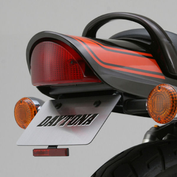 デイトナ DAYTONA 74300 フェンダーレス ボルトオンキット スリムリフレクター付属 カワサキ ゼファー750/RS('91~'06)