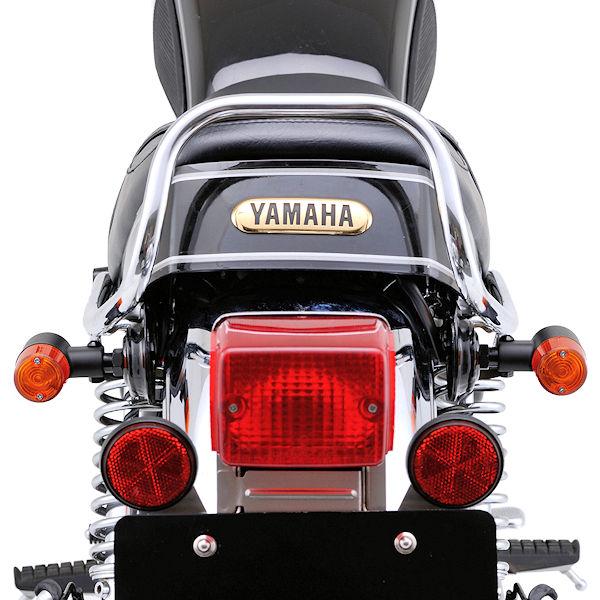 デイトナ DAYTONA 95828 スモールウインカーキット ブラックボディ ヤマハ SR400/500('83~'08) SR400('10~'17)FI