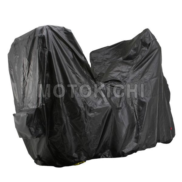 デイトナ DAYTONA 94202 トップBOXタイプ バイクカバー ブラックカバー アドベンチャー系専用 MT-09TR NC750 Versys V-Strorm 他