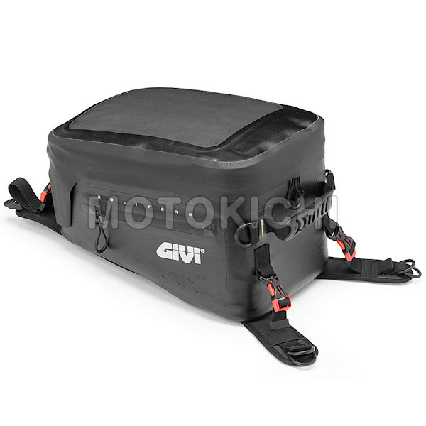 GIVI 防水タンクバッグ GRT705 デイトナ DAYTONA 94754 容量 20リットル ショルダーベルト 固定用ベース 固定ベルト