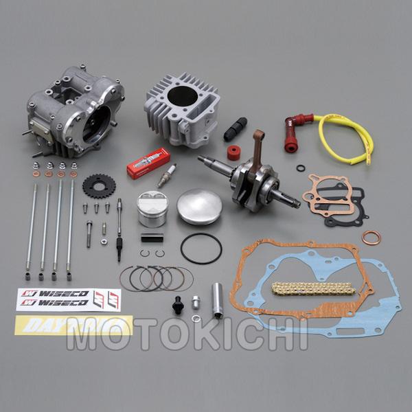 デイトナ DAYTONA 75012 フィンガーフォロアー DOHC ボア&ストロ-クアップキット(124.8cc) モンキー/ゴリラ