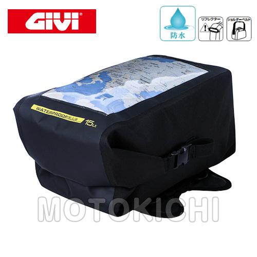 デイトナ DAYTONA 92278 GIVI PTB01 タンクバッグ 容量15L リフレクター付
