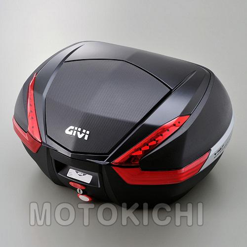 デイトナ (DAYTONA) 92471 GIVI V47NN【47L】未塗装ブラック(カーボン調パネル)