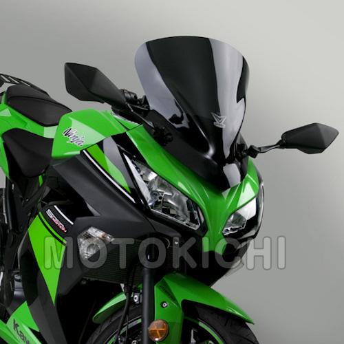 デイトナ DAYTONA 92474 NATIONAL CYCLE VStream ウインドシールド ショート ダークスモーク カワサキ Ninja250