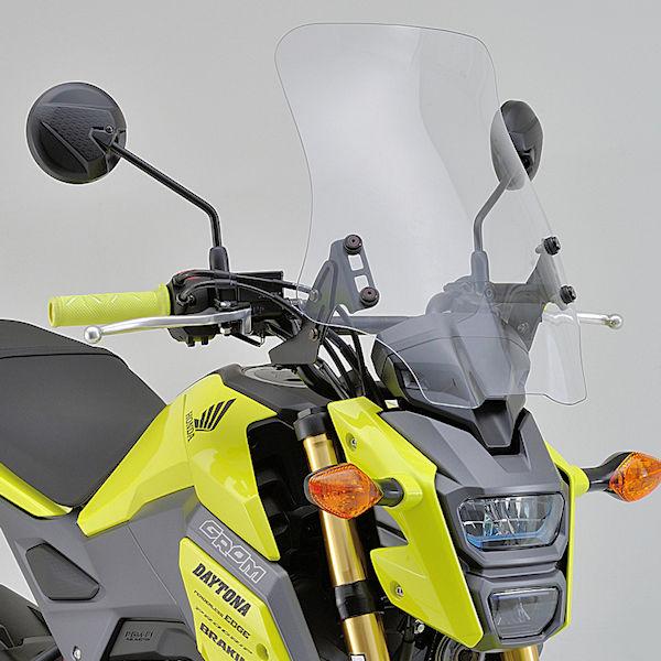デイトナ DAYTONA 95357 ウインドシールド RS クリアー GROM('16)LEDヘッドライトモデル専用