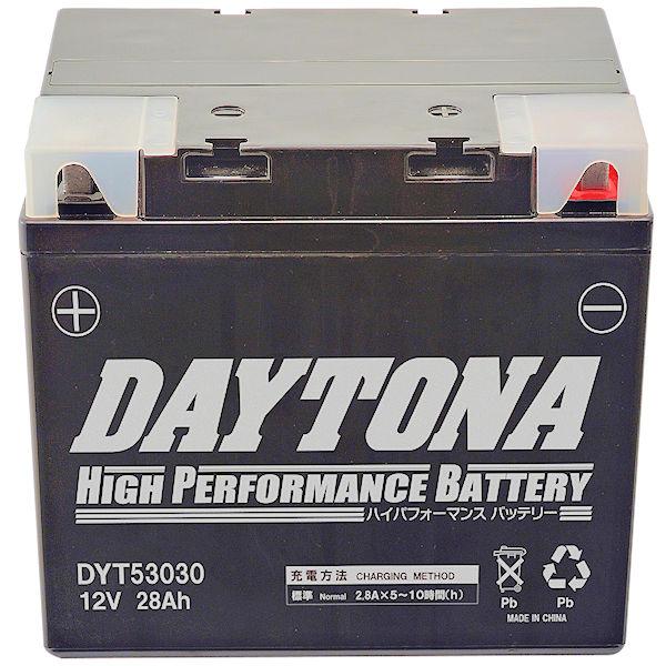 デイトナ DAYTONA 95946 ハイパフォーマンスバッテリー DYT53030 BMW R100RS/RT/GS R80RS/GS/R