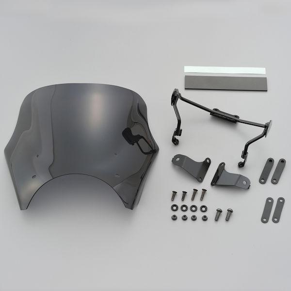 デイトナ DAYTONA 15571 スクリーンキット BlastBarrier(ブラストバリアー)車種別キット スモーク ホンダ REBEL250 '17-'19
