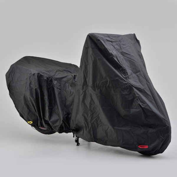 デイトナ DAYTONA 16818 ブラックカバー ウォーターレジスタント ライト アドベンチャー専用 サイドBOX装着タイプ 全長231cm