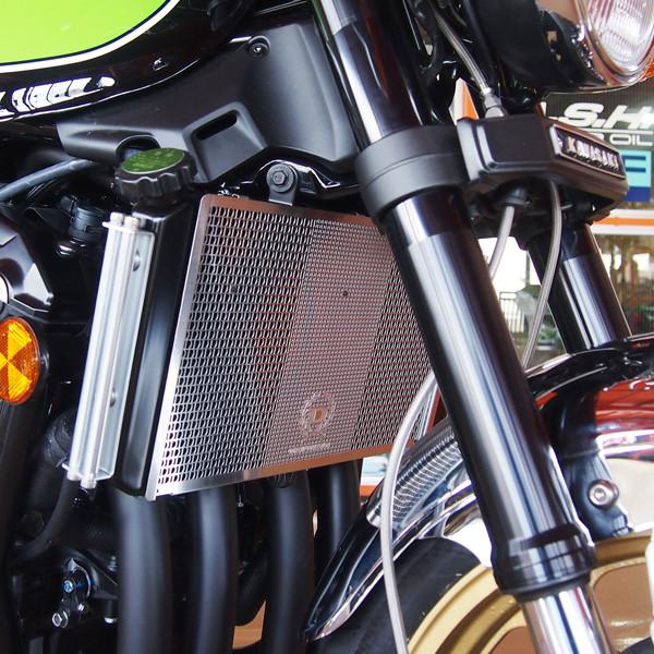 【あす楽対応】ドレミコレクション 35717 Z900RS ラジエター コアガード シルバー