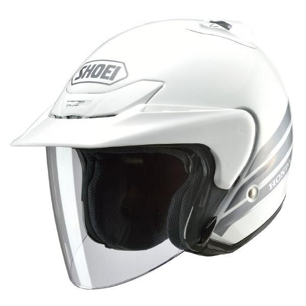 HONDA純正 0SHGS-JS5A-W Honda×SHOEI JS-5 ジェットヘルメット ホワイト ホンダ純正 S/Mサイズ