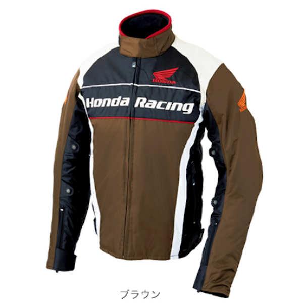 ホンダ純正 0SYTN-X3S-T Honda Racing ウインターグラフィックブルゾン ブラウン