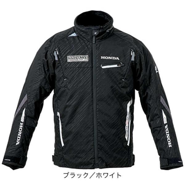 ホンダ純正 0SYTP-131-K レーサーオールシーズンジャケット ブラック/ホワイト