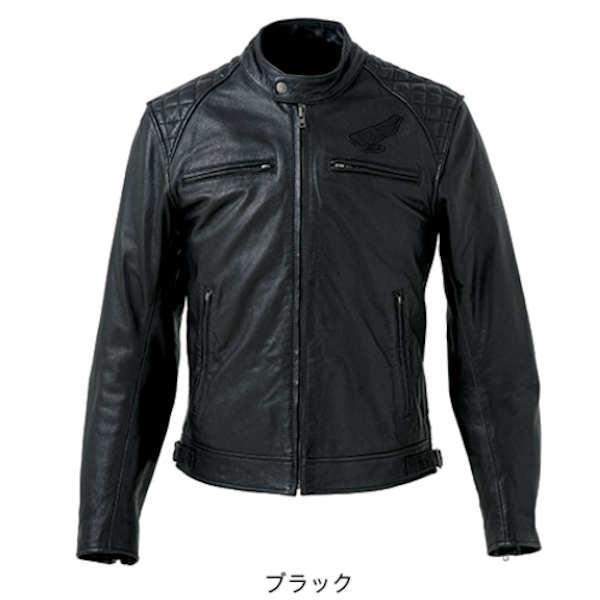 ホンダ純正 0SYTZ-13C-K ゴートスキンレザージャケット ブラック