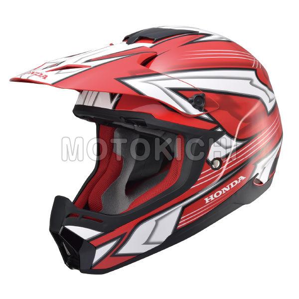 HONDA純正 Honda XP913 CHARGER ホンダオリジナル ヘルメット レッド×ホワイト オフロード