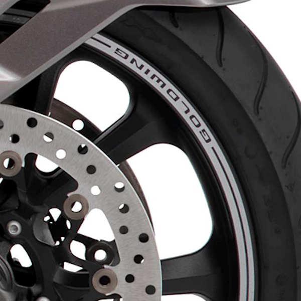 ホンダ純正 08F71-MKC-A10ZB リムストライプ グレー タイヤ1本分 HONDA ゴールドウイング GOLDWING SC79