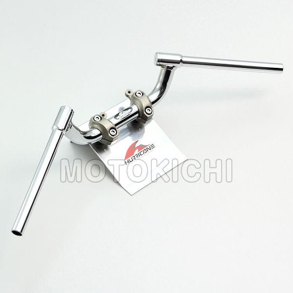 FATコンドル 専用ハンドル XSR900 MT-09 YAMAHA ハリケーン HURRICANE クロームメッキ HB0295C-10