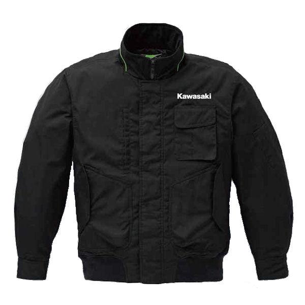 【あす楽対応】 Kawasaki純正 (カワサキ) J8001-2373 スタッフウォーマーブルゾン Lサイズ 【ジャケット】