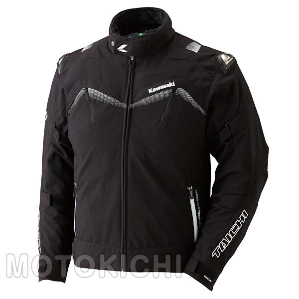 カワサキ アームドオールシーズンジャケット ブラック J8001-2732 J8001-2733 J8001-2734 J8001-2735 M~3Lサイズ Kawasaki×タイチ