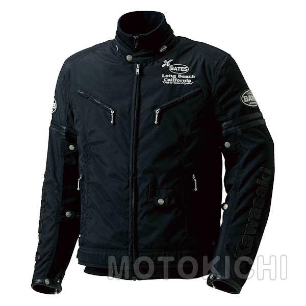 カワサキ BSP-4TTライダースジャケット ブラック/ブラック J8001-2763 J8001-2765 M~LLサイズ Kawasaki×ベイツ