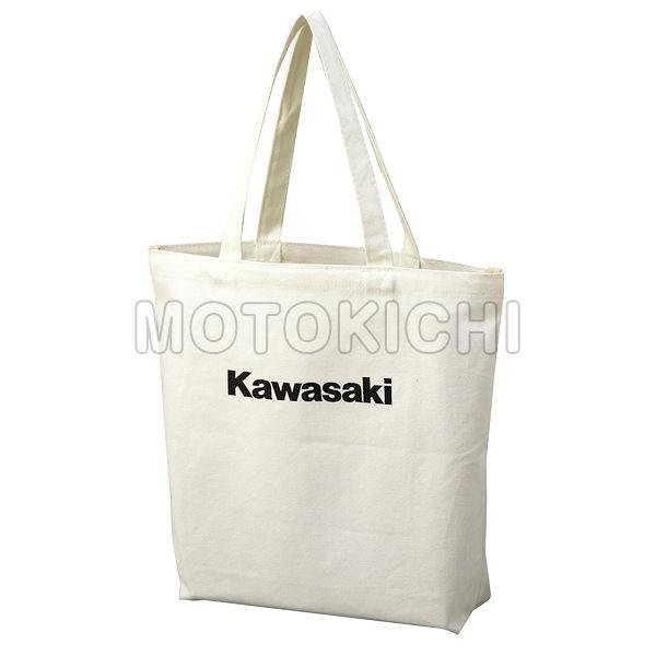 【あす楽対応】KAWASAKI純正 J8911-0094 カワサキ キャンパス トートバッグ ホワイト