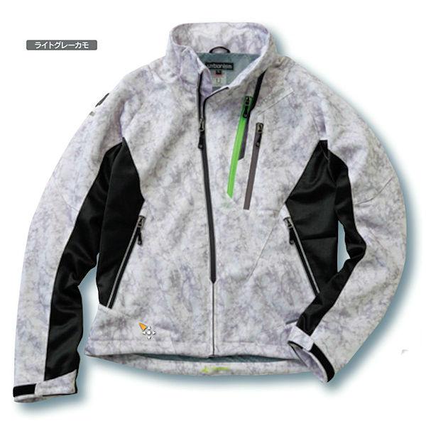 Kawasaki純正 カワサキ フードメッシュジャケット ライトグレーカモ 春夏モデル J8001-2813 J8001-2814 J8001-2815 J8001-2816 J8001-2817