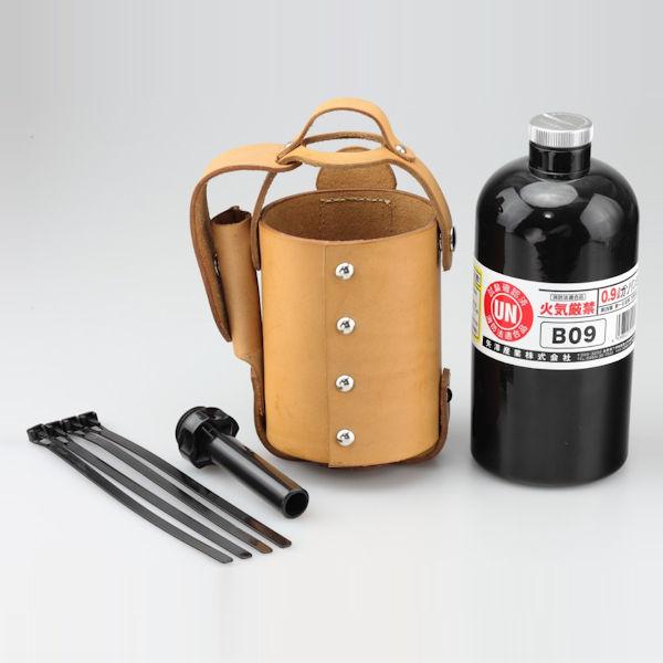 キジマ KIJIMA HD-04167 ガソリンボトル&レザーホルダーセット