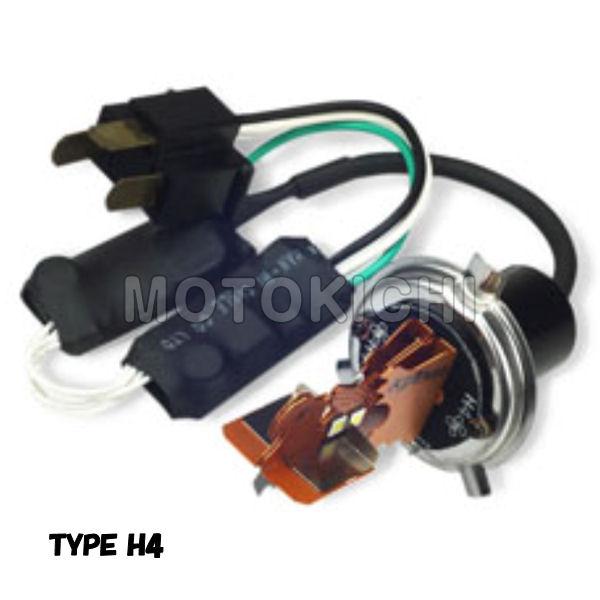 217-6143 LEDヘッドライトバルブ H4タイプ キジマ SUZUKI車 SKYWAVE V-Strom650 カタナ GSX1400 GSR250 SV650