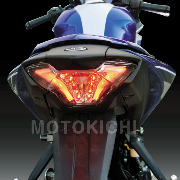 キジマ (KIJIMA) 217-7017 LEDテ-ルランプユニット スモーク YAMAHA MT-07 YZF-R25