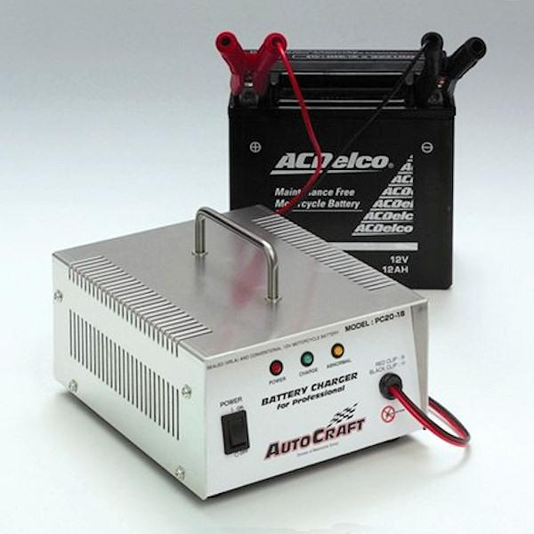 キジマ KIJIMA ZP-PC2018 バッテリー充電器 PC2018 サルフェーション回復機能付き オートクラフト 汎用
