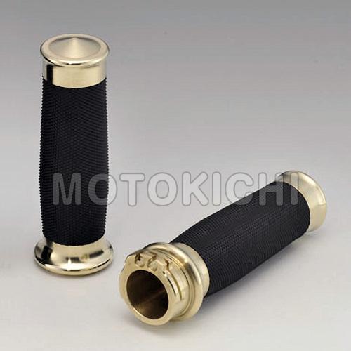 キジマ KIJIMA 品番 HD-04787 メトラグリップ 真鍮 BRASS PRODUCTS インチグリップ ハーレー