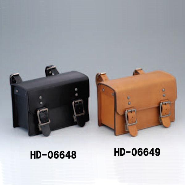 キジマ KIJIMA HD-06649 ツールバック クラシック 本皮6mm厚 タン(茶) TRIUMPH ハーレー