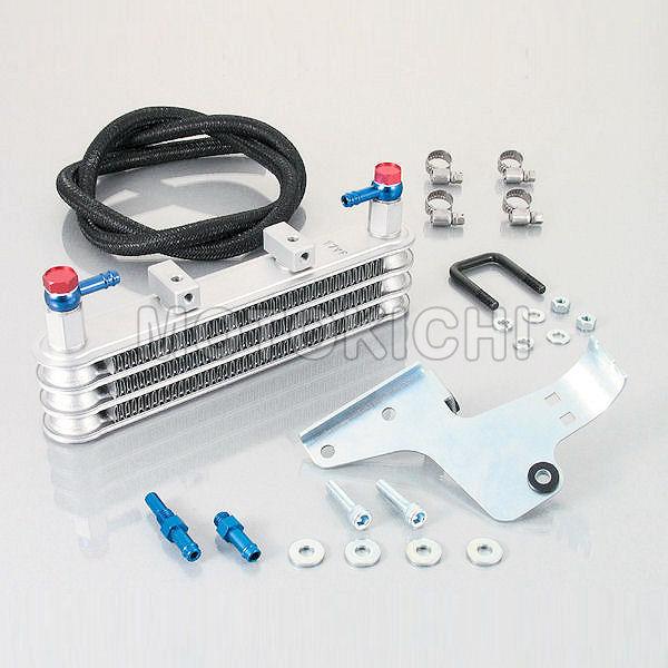 キタコ KITACO 360-1134100 スーパーオイルクーラーキット 3段コア ノーマルクランクケースカバー加工 ホンダ XR50/XR100モタード