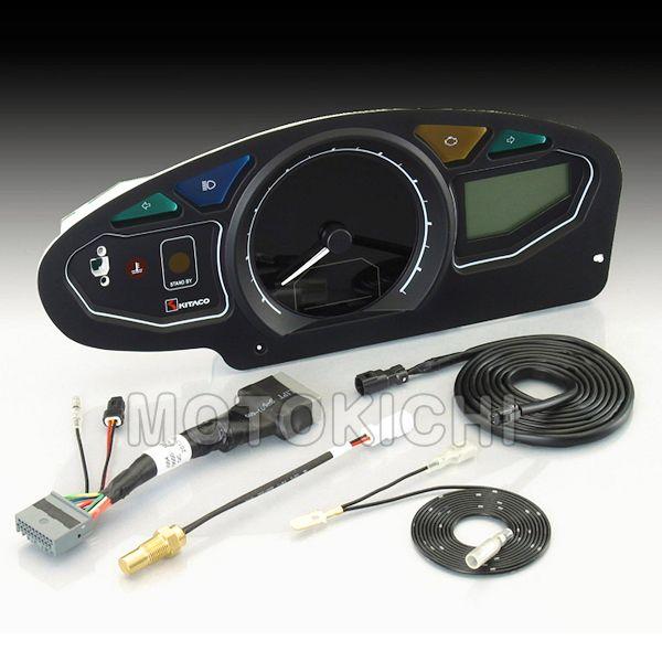 キタコ KITACO 752-1430800 デジタルスピードメーター タコメーター PCX125 PCX150 LCDマルチメーター