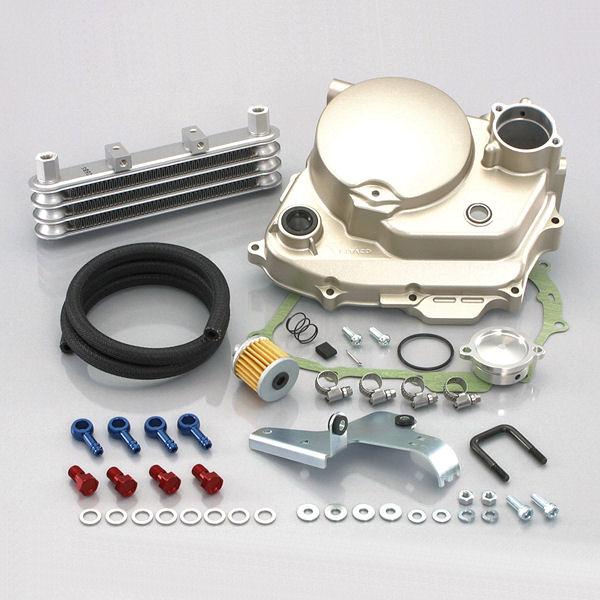 キタコ KITACO 330-1134210 スーパーオイルクーラーキット 3段コア ホンダ XR50 XR100モタード ULTRAクラッチカバー付フルキット