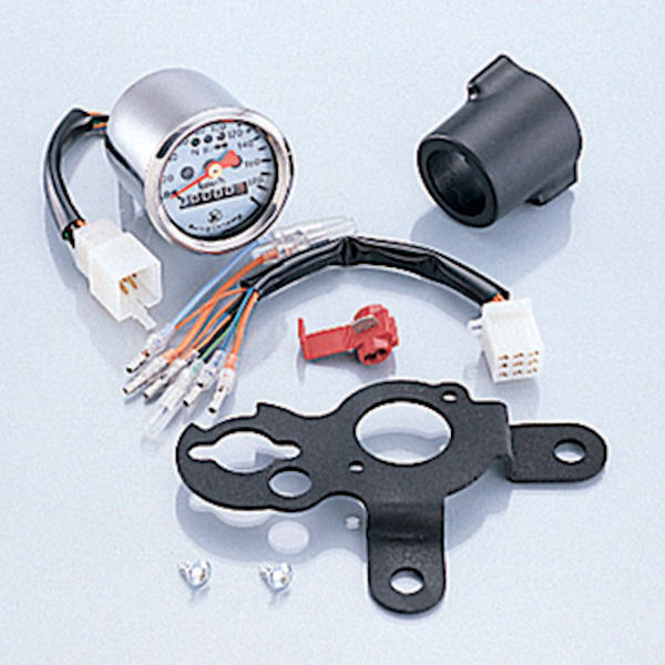 キタコ KITACO 752-1122100 ミニミニスピードメーターキット φ48 190Km/h APE50/100 APE100-D