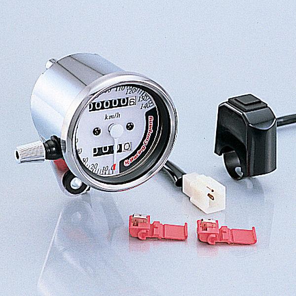 キタコ KITACO 752-0803000 スピードメーター 7カラー φ60 140Km/h 汎用