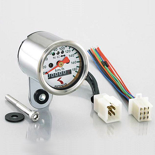 キタコ KITACO 752-0900030 ミニミニスピードメーター φ48 190Km/h 汎用