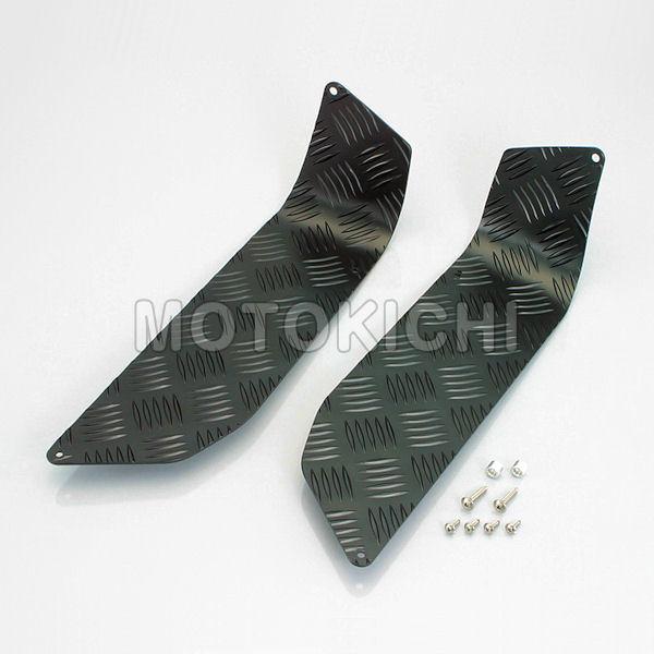 キタコ KITACO 538-0090010 ステップボード アルミ製ブラックアルマイト仕上げ ヤマハ BW'S50(1VC全車種)