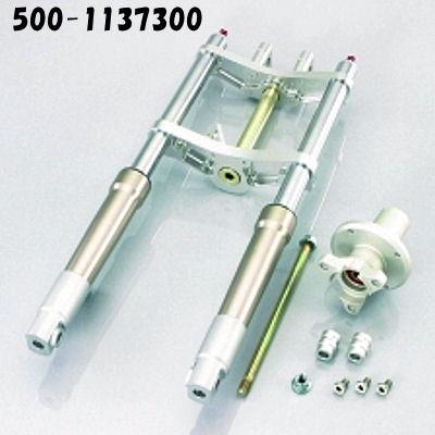 キタコ KITACO φ30フロントフォークキット タイプX ピッチ199mm オフセット40mm ディスクブレーキ用 モンキー 500-1137300 500-1137310