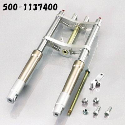 キタコ KITACO φ30フロントフォークキット タイプX ピッチ199mm オフセット40mm ディスクブレーキ用 モンキー 500-1137400 500-1137420 500-1137440