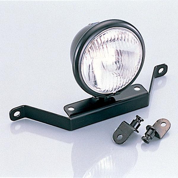 キタコ KITACO 4-1/2インチ ヘッドライトキット ホンダ FTR223 107-800-1806-00:ブラック 107-800-1806-10:メッキ