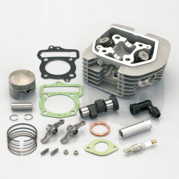 キタコ KITACO 221-1413701 SE-PROヘッドキット 100cc /鍛造ピストン仕様 ホンダ APE100/-D XR100モタード XR100R CRF100F NSF100